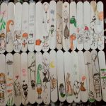 نقاشی روی چوب بستنی