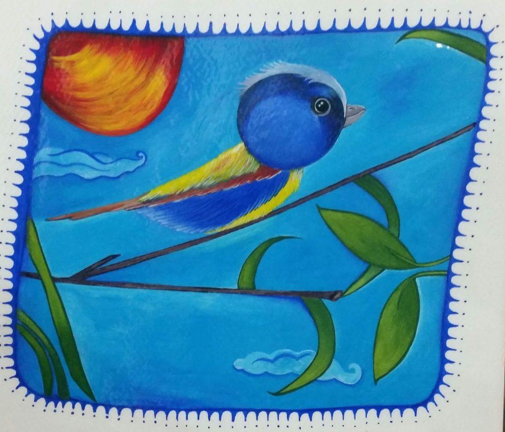 تصویرسازی پرنده